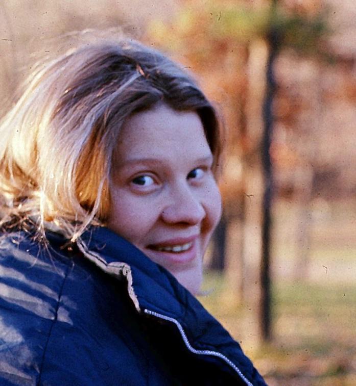 Diane at the lake
